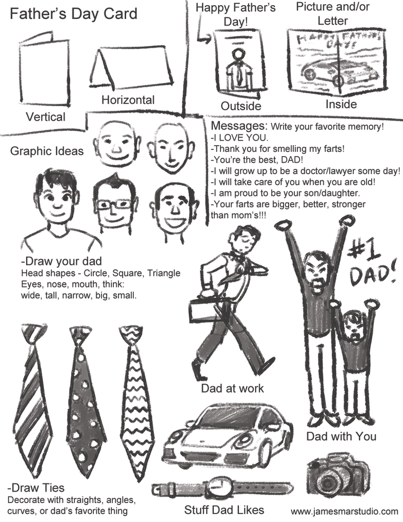 Fathers Day Card by gaudog