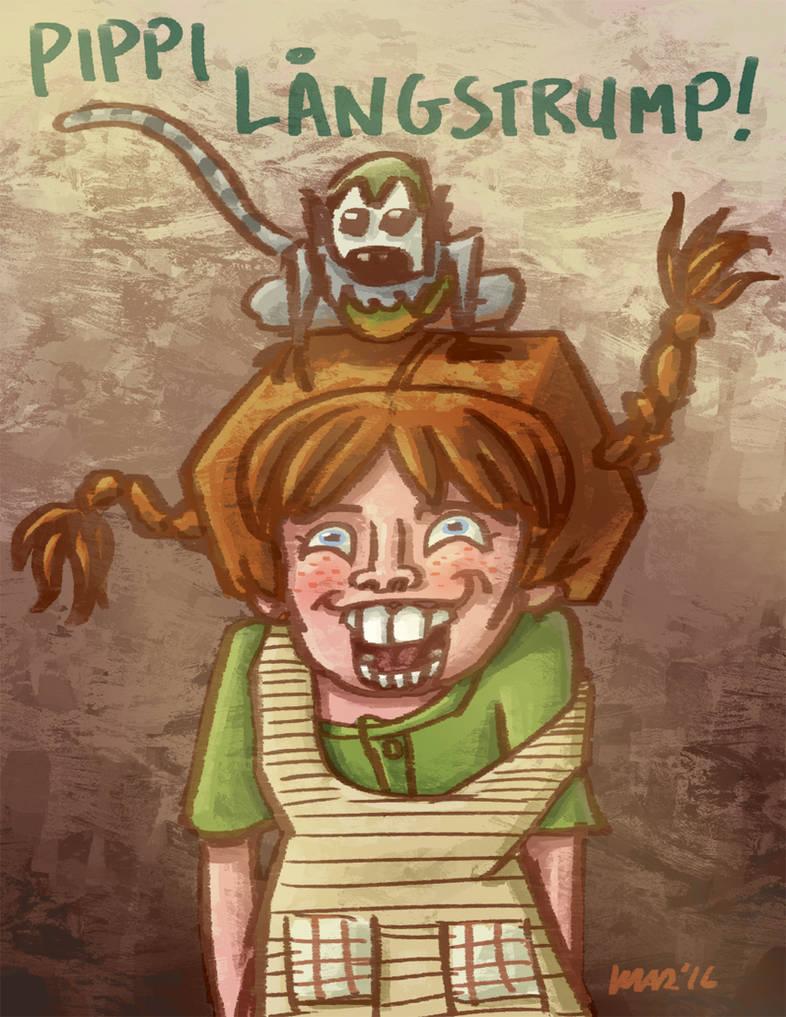 Pippi Langstrump! by gaudog