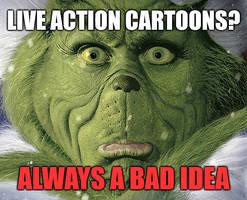 Live Action Cartoon Meme by gaudog