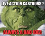 Live Action Cartoon Meme