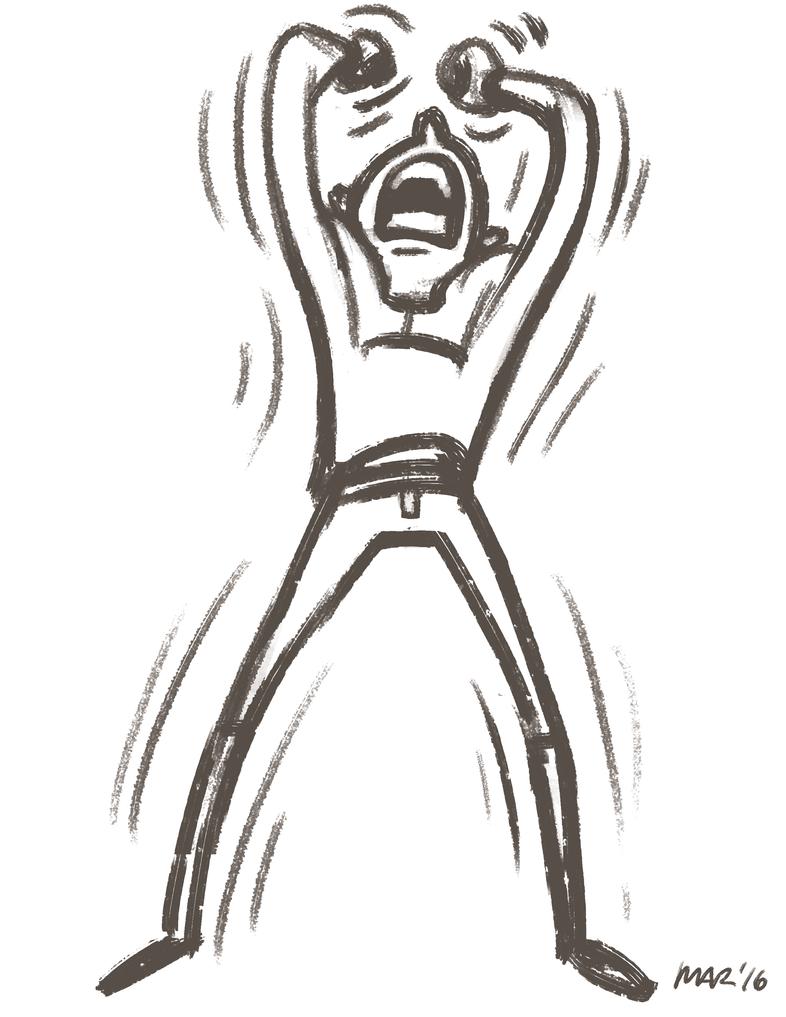 Anger Or Anguish by gaudog