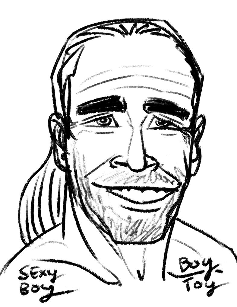 Shawn Michaels by gaudog