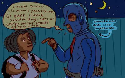 DangerMan The Urban Superhero