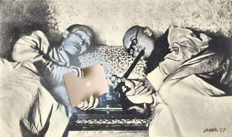 Ipad Addiction by gaudog