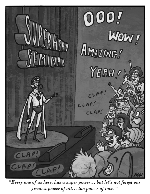Superhero Seminar by gaudog
