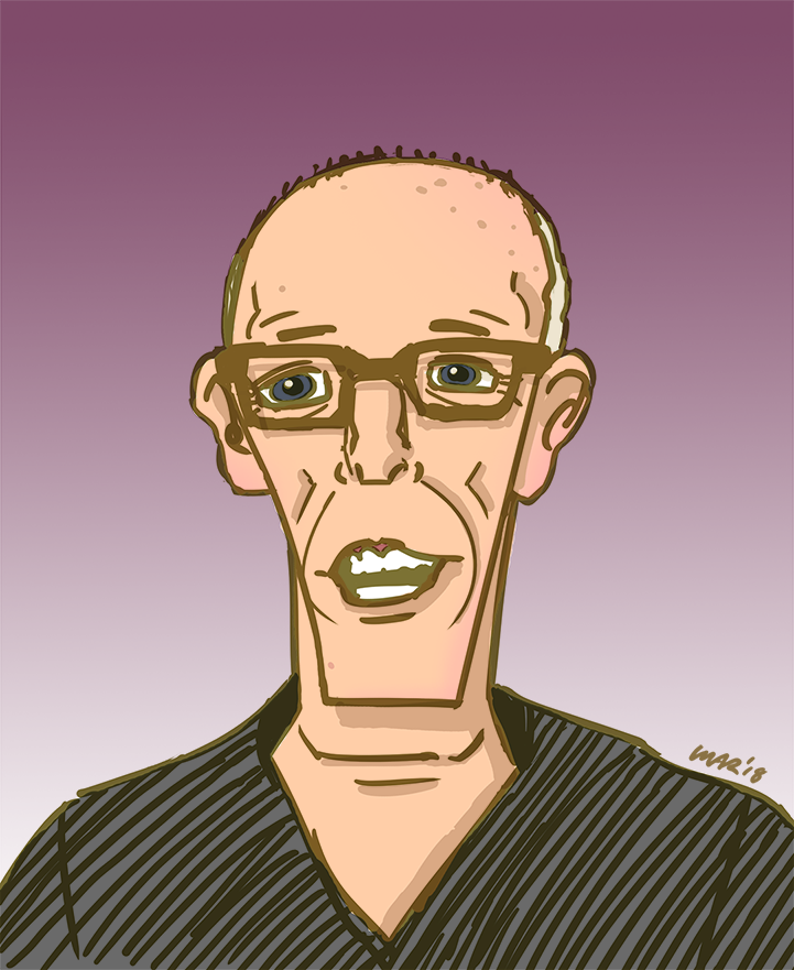 Scott Adams by gaudog