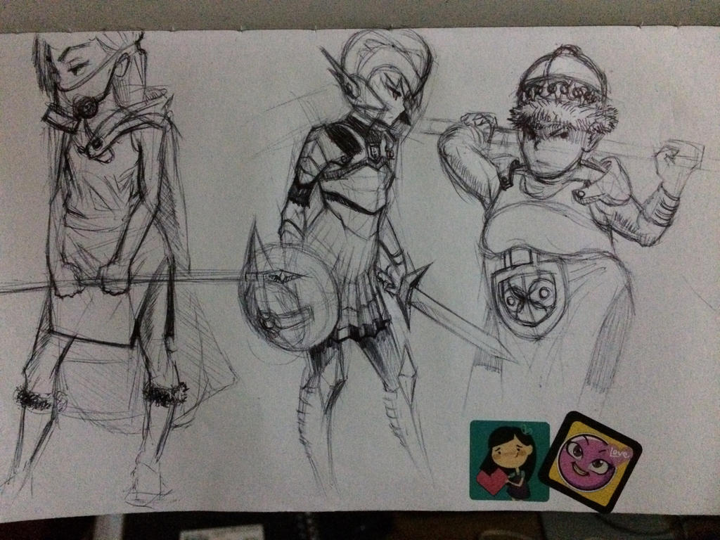 Character Design Study : Study character design by gatjensb on deviantart
