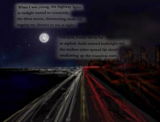 Highway Lights by melaphyre