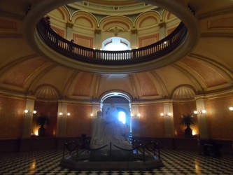 Sacramento Capitol Building Interior by melaphyre