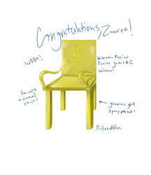 Golden Chair Award by melaphyre