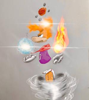 Rayman art