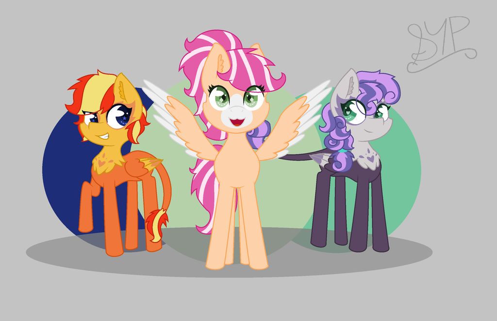 Phoenix, Songbird, and Dragonfly- Alt. NG by ScrewYourPositivity