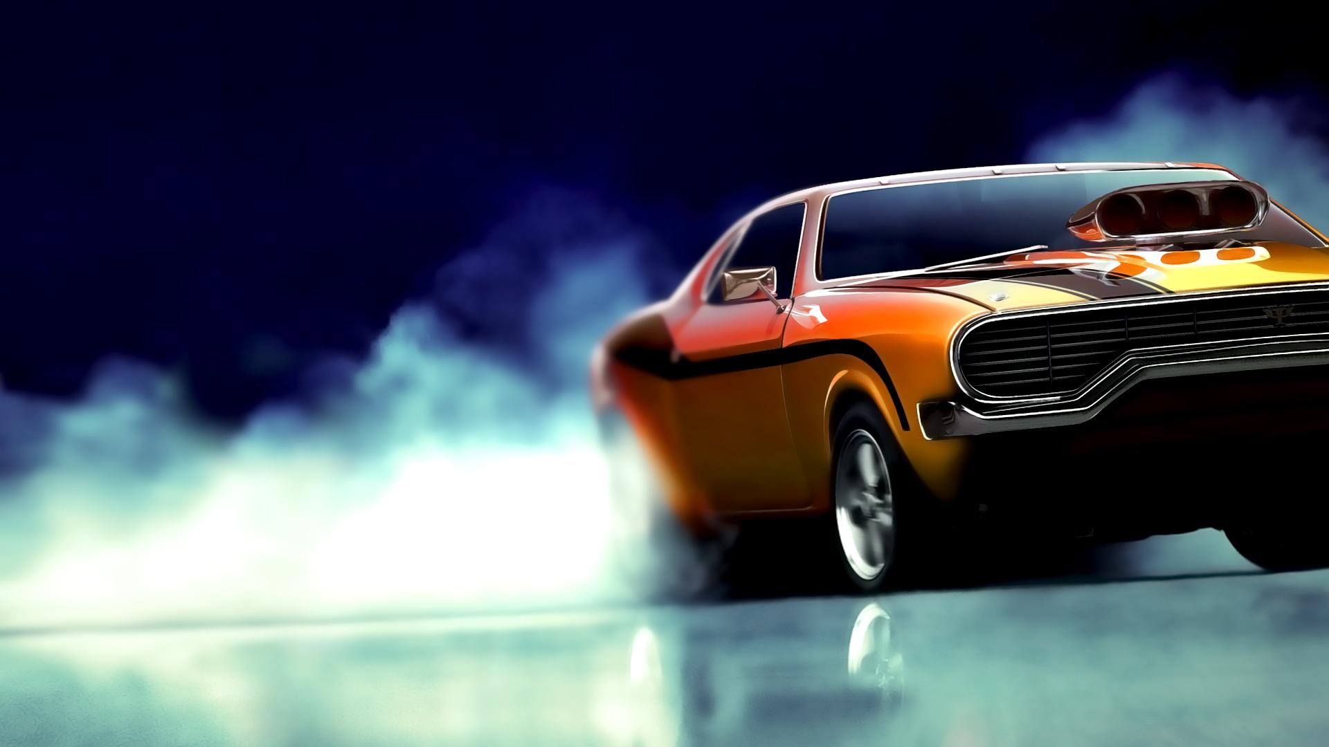 Burnout's Muscle Car By L0053R On DeviantArt