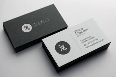 iNexxus Business Card Design by L0053R