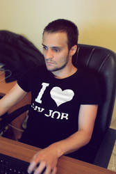 Me working by L0053R
