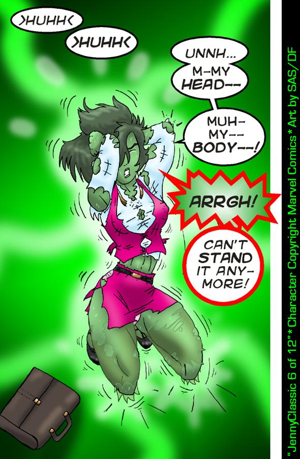 Pin She Hulk Transformation on Pinterest