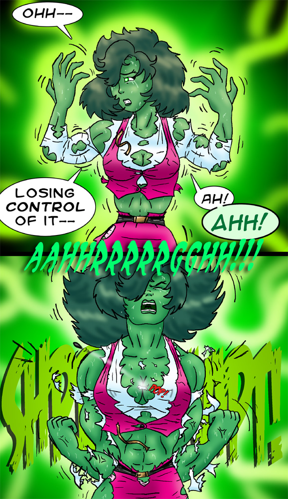 She Hulk Transformation Real No comments have been added