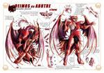 Vulture Deimos, the Terror - Technical sheet (POR) by Sekishiki