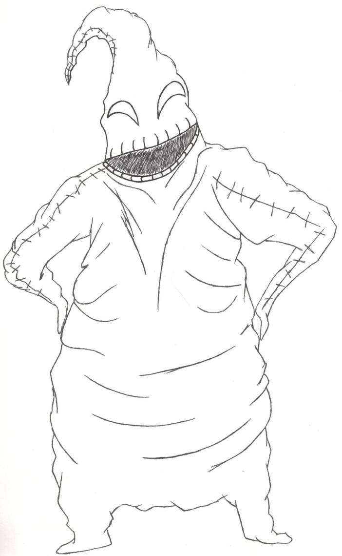 Mr. Oogie Boogie Man by Sionnacha