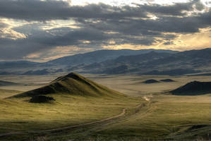 Mongolian Landscape 5 by MichalDz