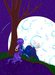 The Moon Bunny by Milady-Alex