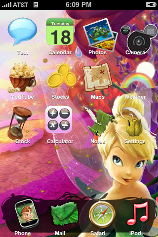 Disney Fairies Tinkerbell By