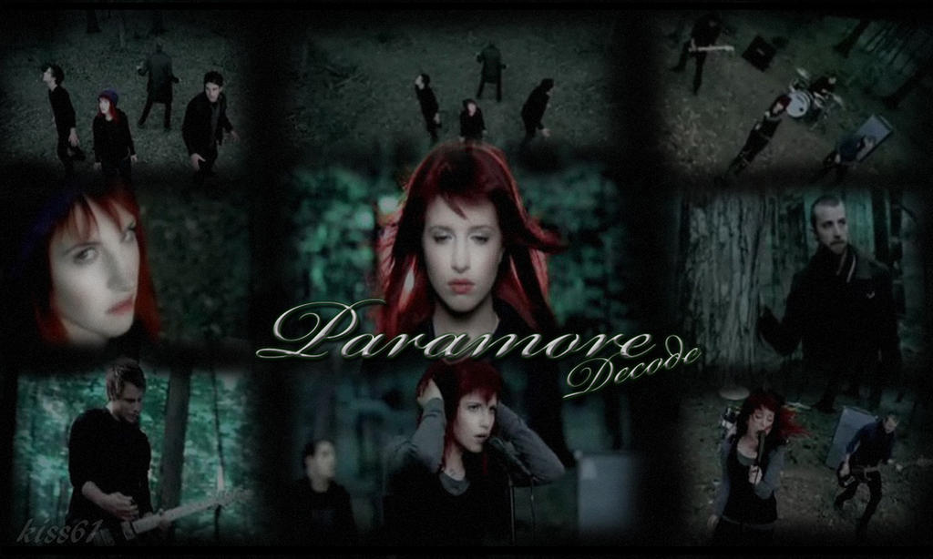 Paramore Decode Wallpaper by kiss61