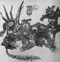 Halo and Predator Dream by Dachande89