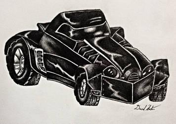 The Batmobile by Dachande89