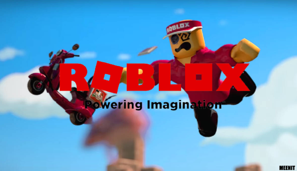 New 2017 Roblox Logo Wallpaper 1 Flying Worker By Meenit On