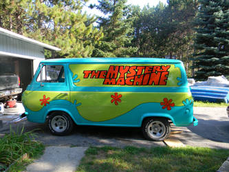 Mystery Machine by EndOfGreatness