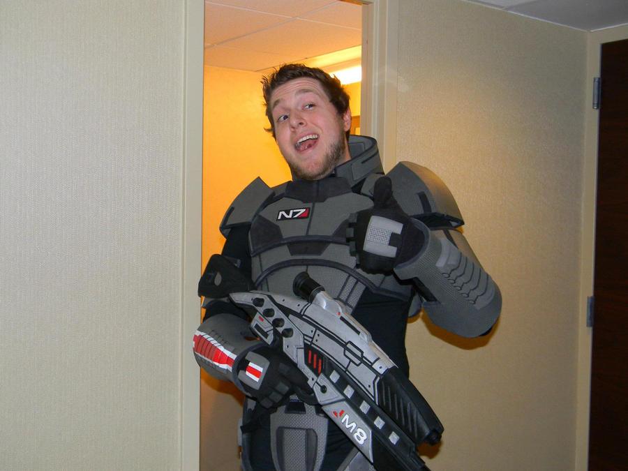 Commander Shepard by EndOfGreatness