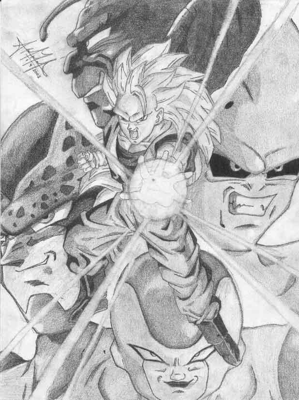Dragon Ball Z By Aitsu No Yami