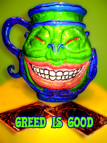 POT OF GREED $Greed is Good xD by Aitsu-No-Yami