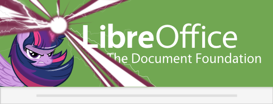 LibreOffice 4.3 Twilight custom Splash Screen 2 by Marcsello