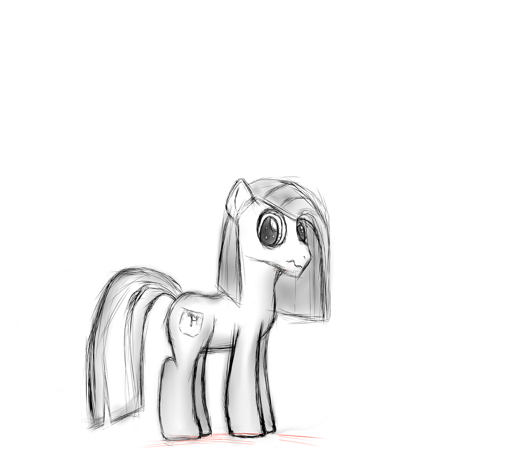 Random Pinkamena Stallion by Marcsello
