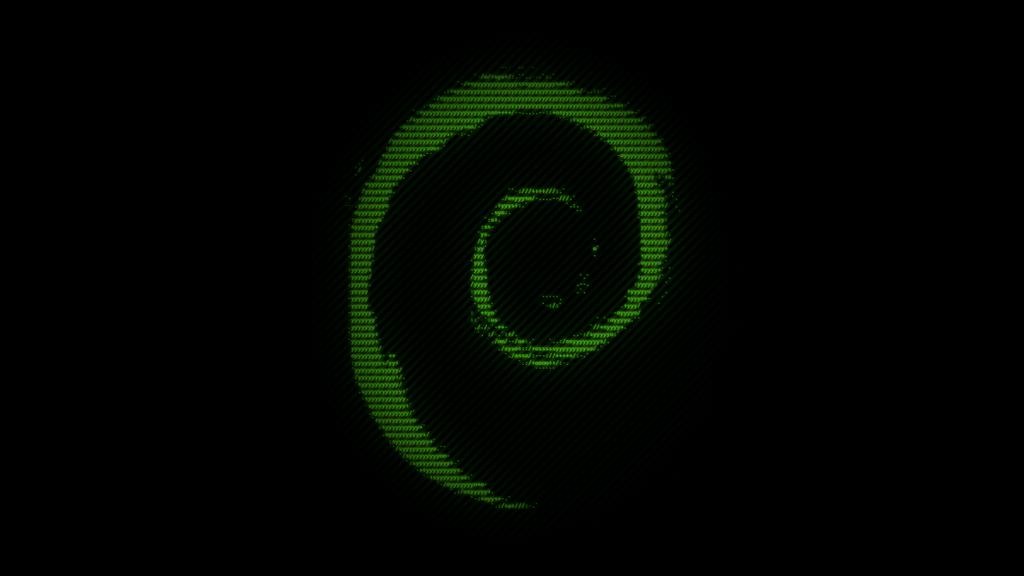 Debian Texty Wallpaper by Marcsello