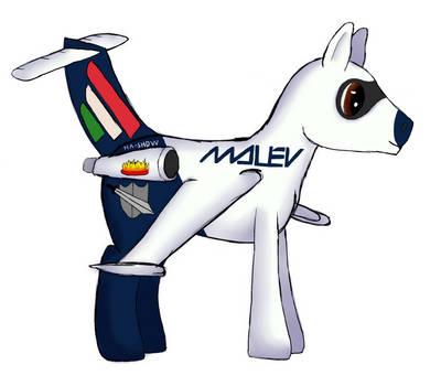 Shadow Hoof as Plane Pony