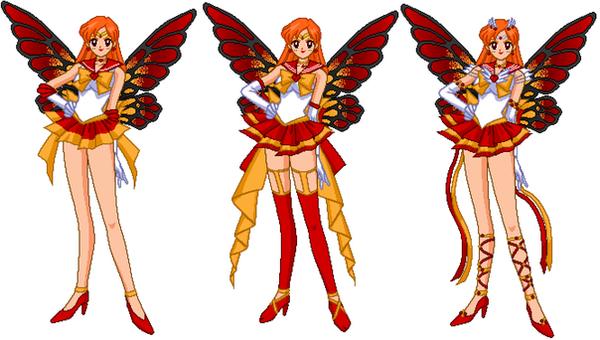 Senshi Pyra-Fire Fairy by LavenderSeaFairy on DeviantArt