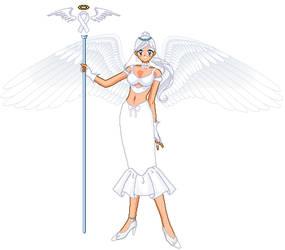 White Ribbon Awarness Angel