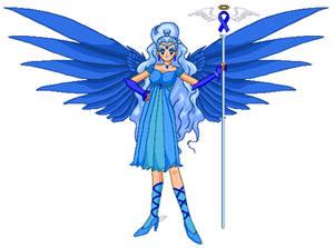 Blue Ribbon Awarness Angel