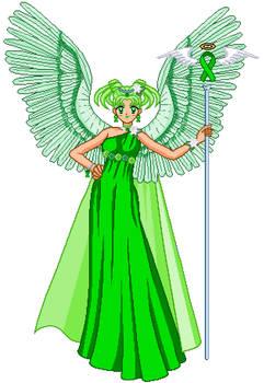 Green Ribbon Awarness Angel