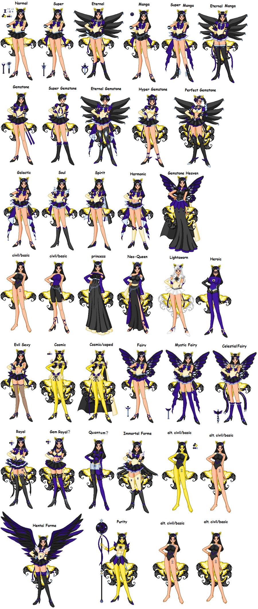 Senshi Celestial Kitsune By Oceanfairydust On Deviantart
