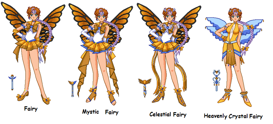 Fairy Senshi Na'ds by LavenderSeaFairy