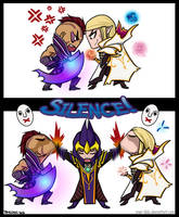 Silence! by kiwisparked