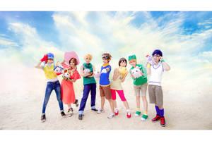 Digimon Adventures : 01