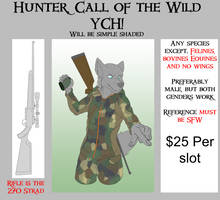 The hunter Call of the Wild YCH!