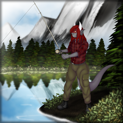 Gone Fishing [ Personal piece]