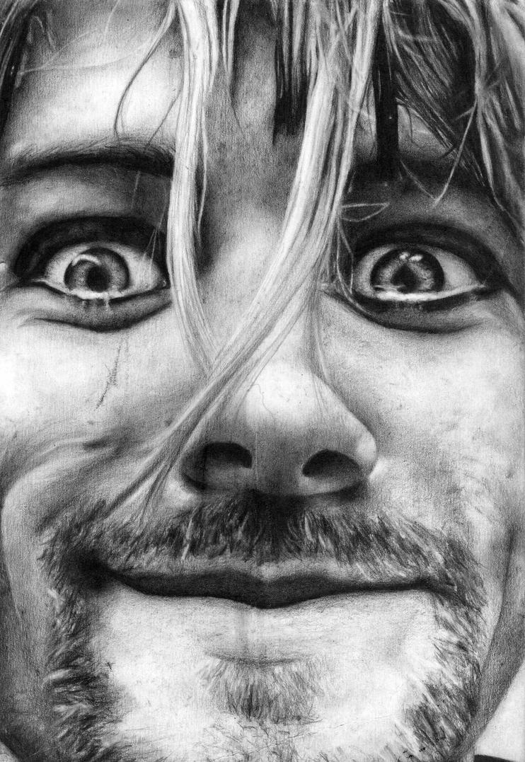 Kurt cobain by whitejudit