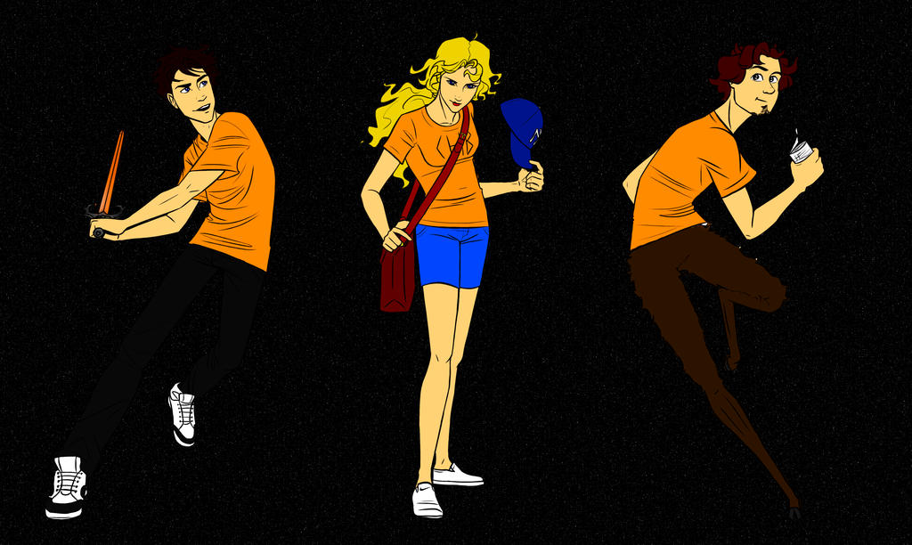 Percy Jackson  Annabeth Chase and Grover Underwood by o0MSK0o on    Percy Jackson Grover And Annabeth